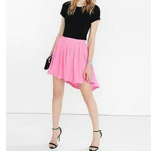 Neon Pink Hi lo skirt